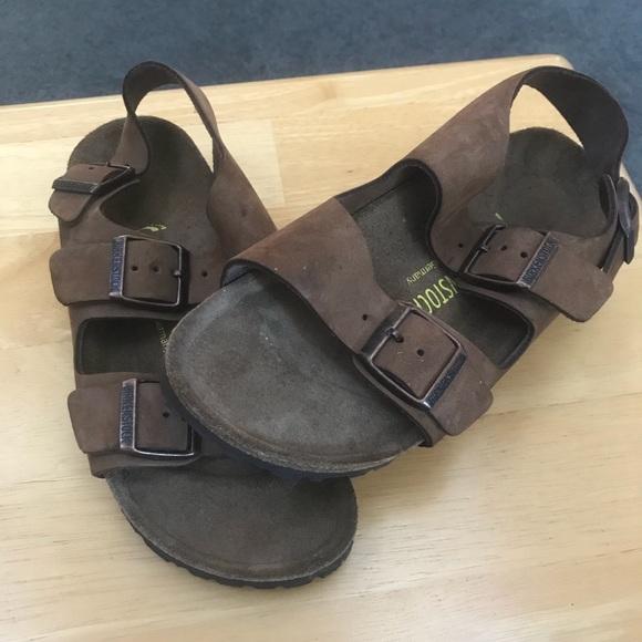 8234b6dfa9a6 Birkenstock Shoes - Birkenstock Milano Narrow Sandals